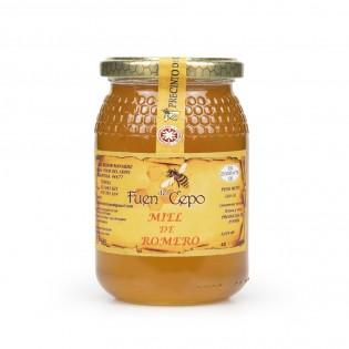 Miel de romero 100% natural, densa y granulada-Agustín Delicatessen
